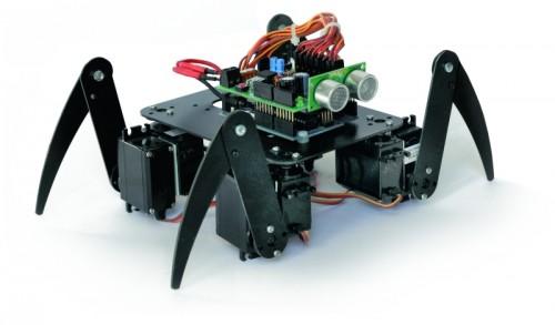Arduino insect robot complete - smartduinoscom