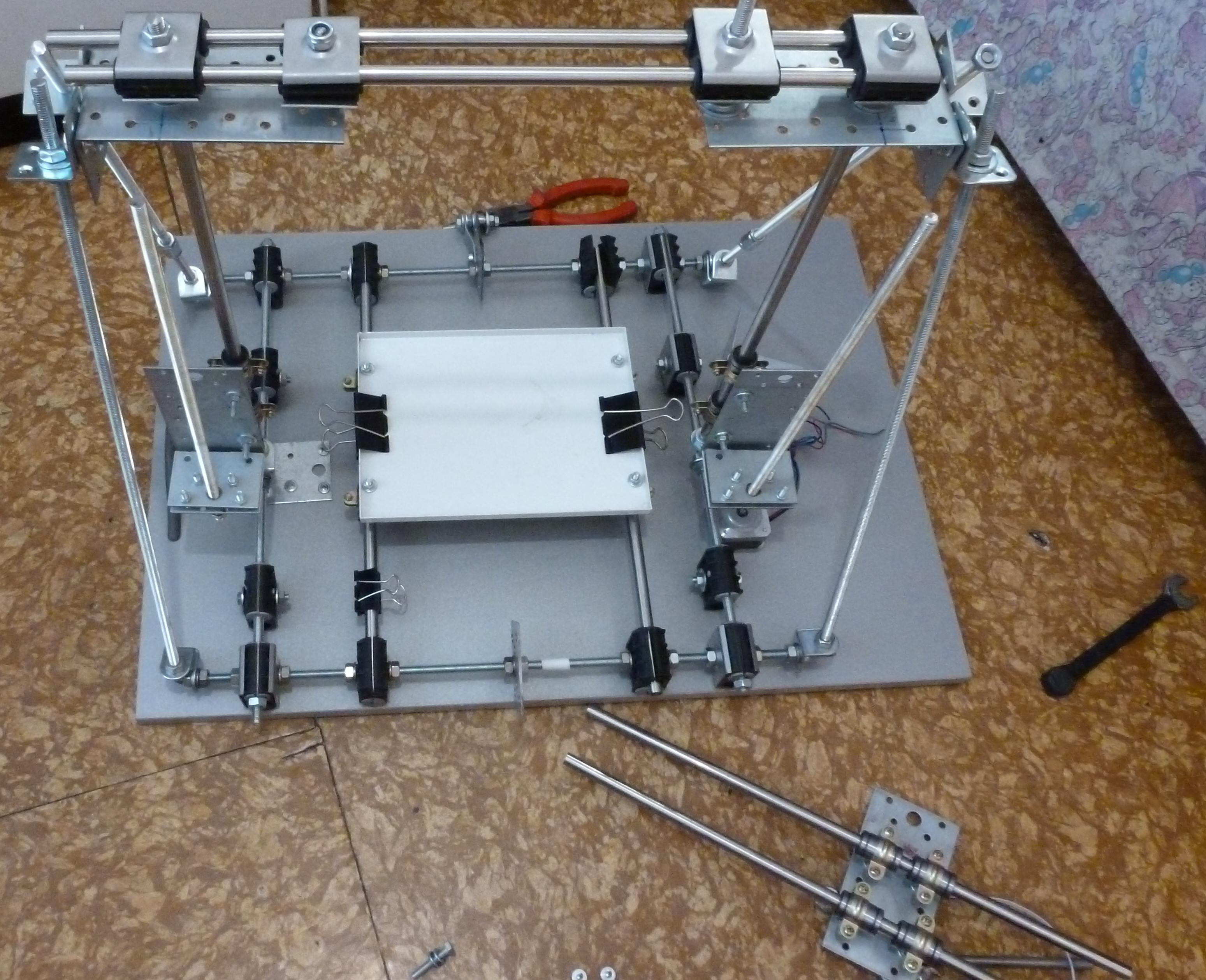 Экструдер для прутка для 3d принтера своими руками фото 977