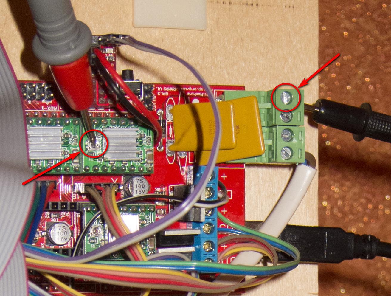 Правильная настройка тока для шаговых двигателей
