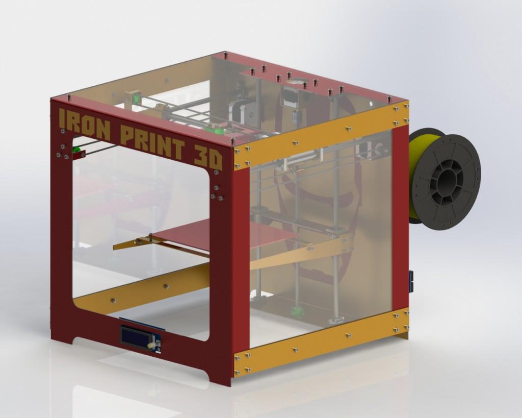IRON PRINT 3D