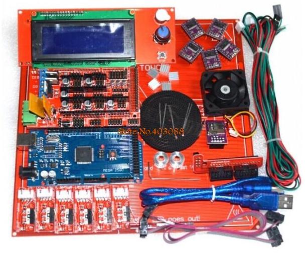 кит набор для сборки принтера на базе Arduino Mega 2560 и Ramps 1.4