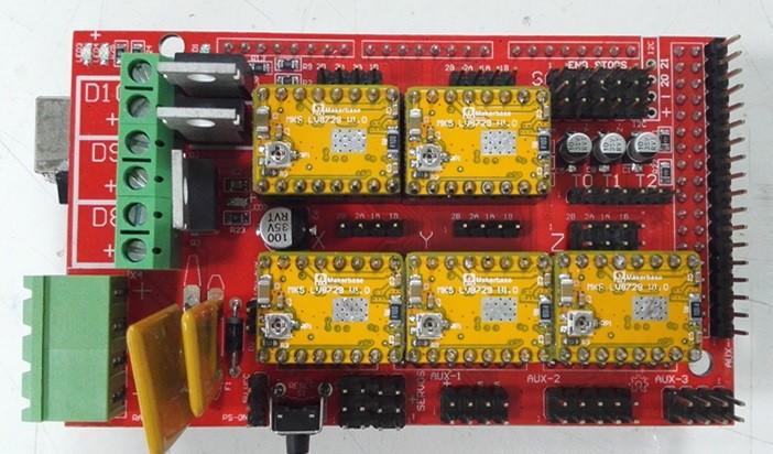 Правильная установка LV8729 на RAMPS 1.4