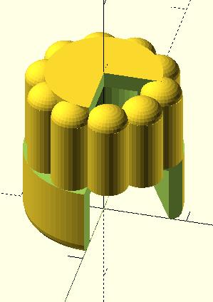 Моделирование в OpenSCAD для 3D печати. Часть 2. Регулировочная ручка