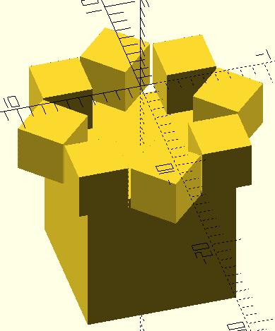 Моделирование в OpenSCAD для 3D печати - Башня