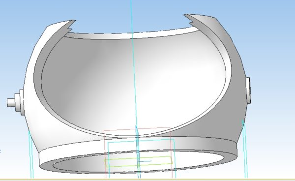3D модель Космоночник