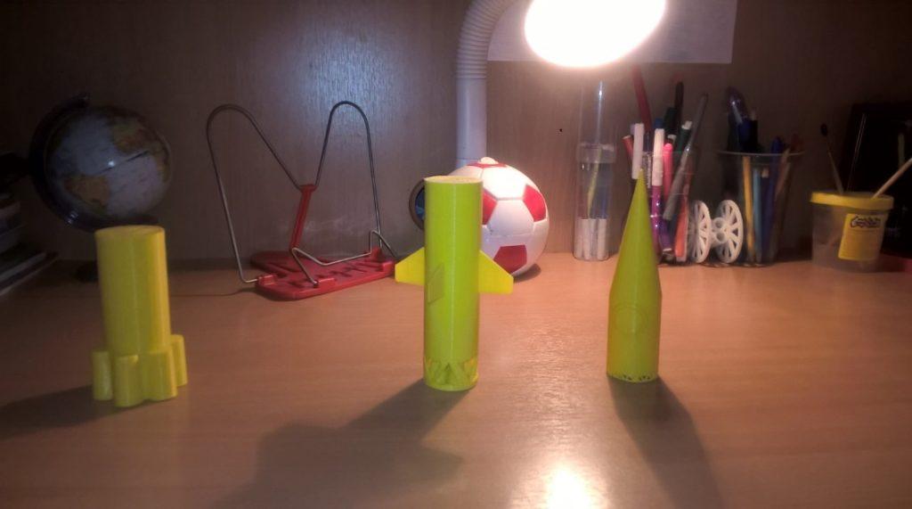 Реалистичная модель ракеты