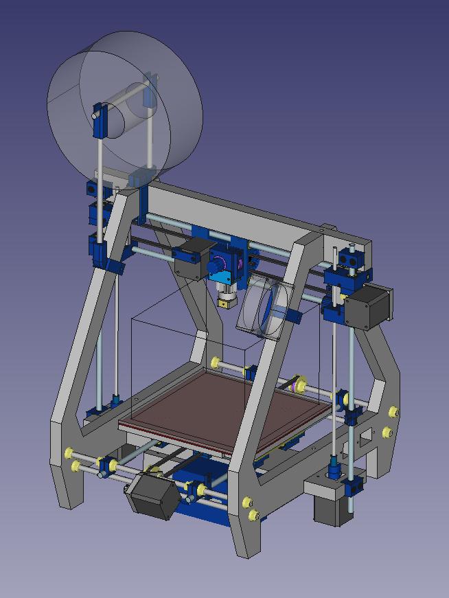 FreeCAD. Введение. 3d-принтер SibRap.