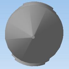 Реалистичная модель ракеты. Третья ступень