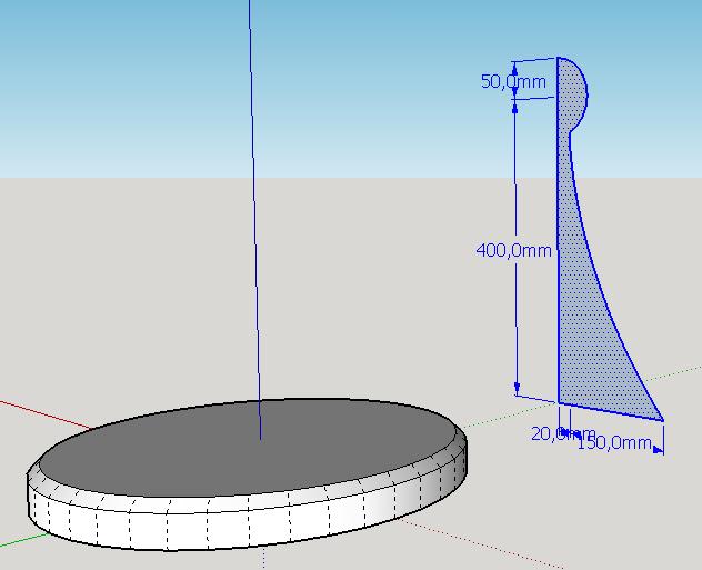 Моделирование в SketchUp. Создание шахматной фигуры
