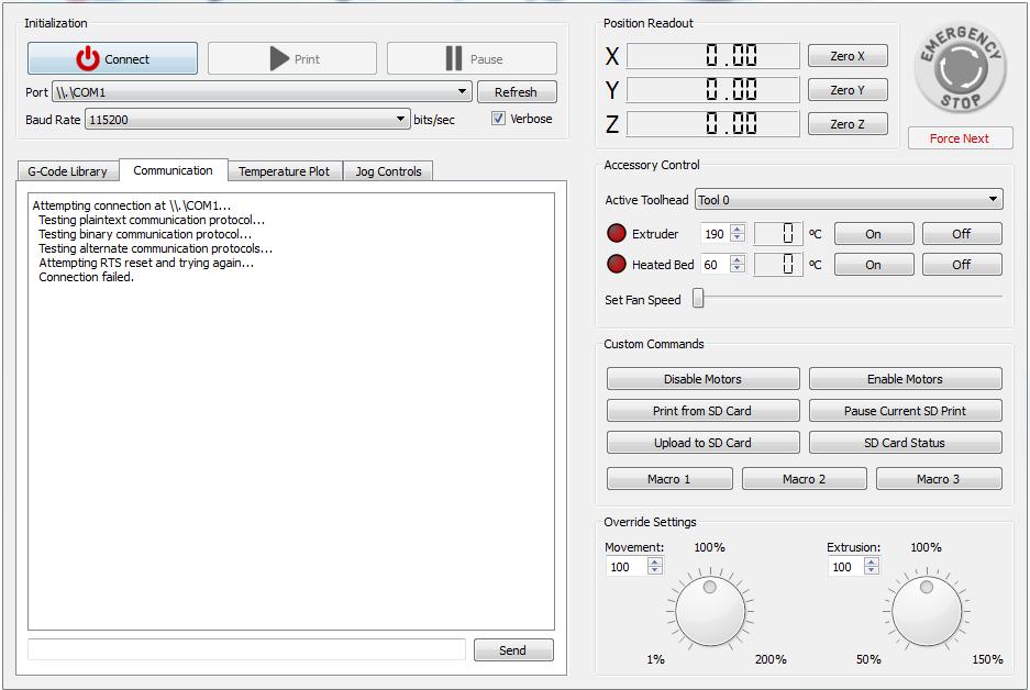 Simplify3D. Часть 2. Интерфейс
