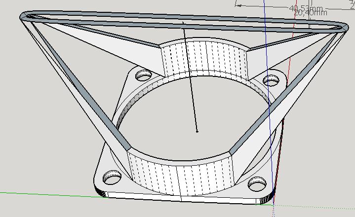 Моделирование в SketchUp. Воздуховод