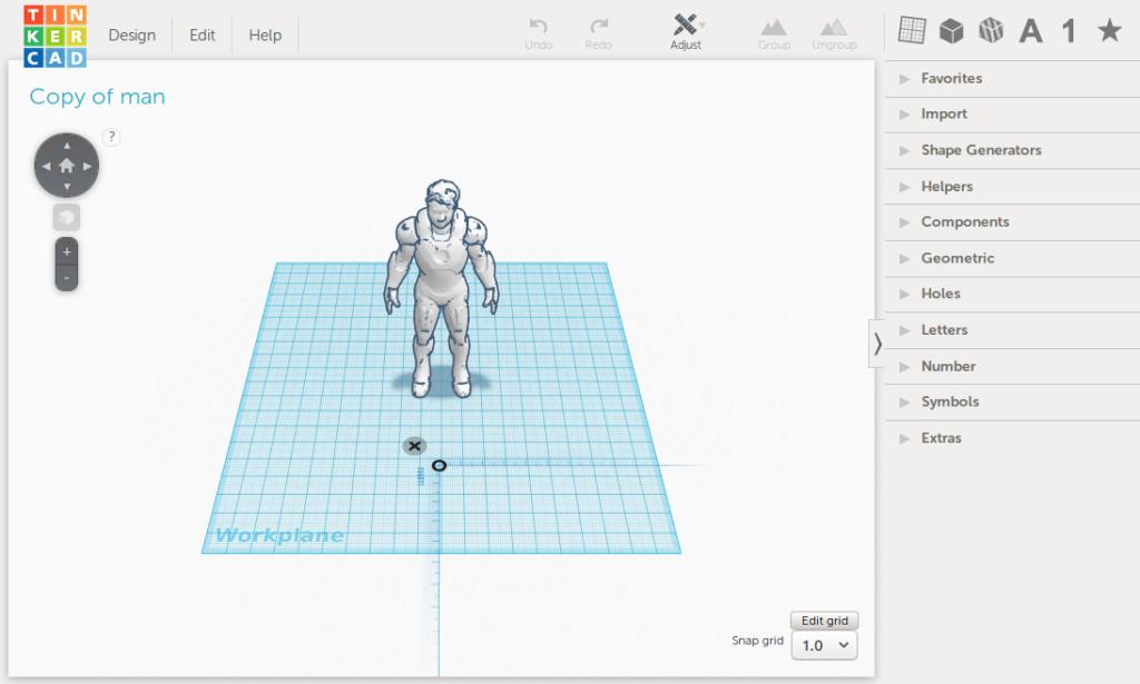 Моделирование в TinkerCad. Обзорная статья