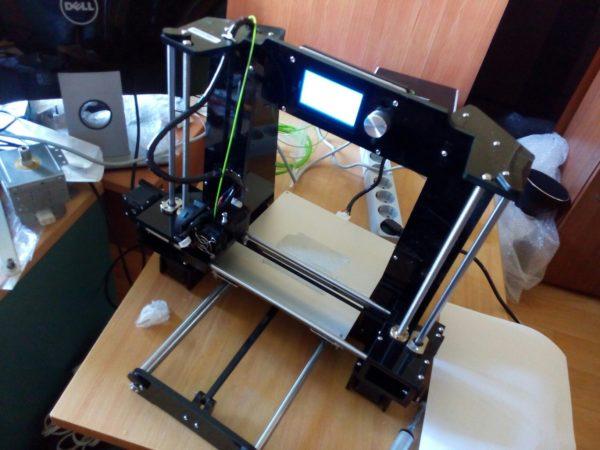 3D принтер + Лазерный гравер