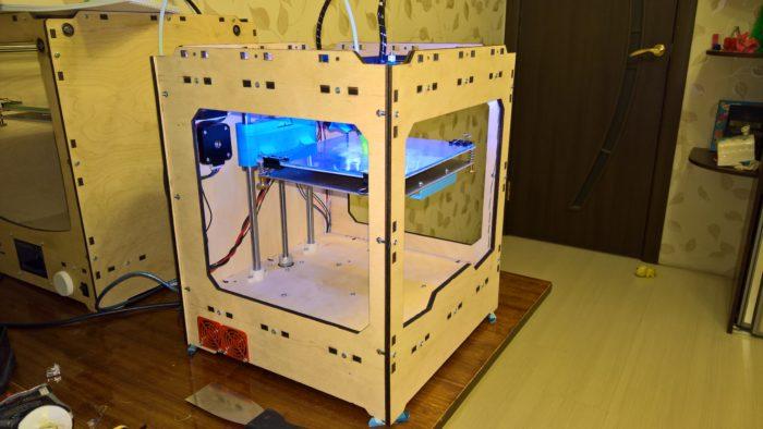 Компактный 3D принтер