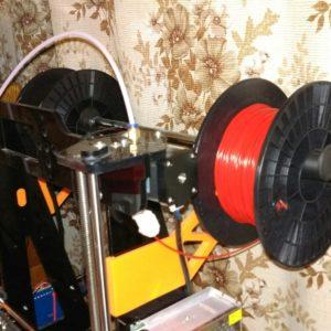 Моя учебная парта: 3d принтер Zonestar Tronxy P802