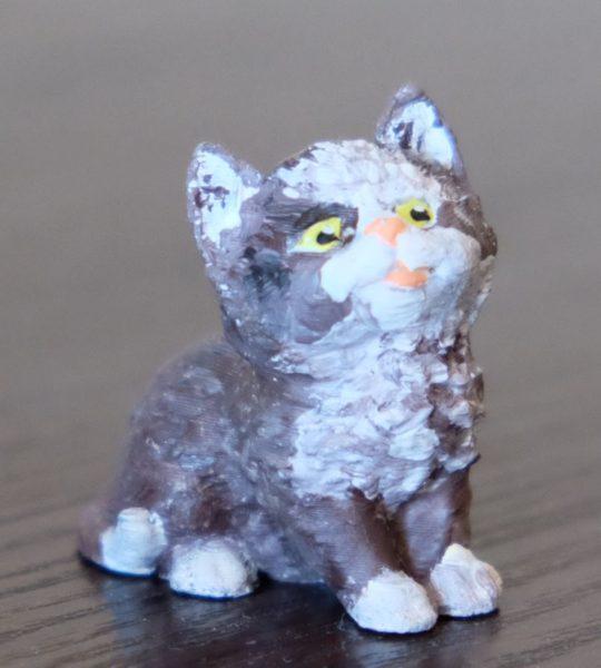 """Модель """"Котёнок"""" под раскраску"""